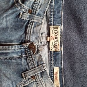 """Mens lucky brand Jean's """"hipster"""" 32×32"""